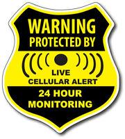 Warning Security Decal Vinyl Home Window Anti Theft Sticker Car Truck Auto Van 1