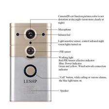 LESHP Wireless Wi-Fi Video Smart Doorbell Camera App