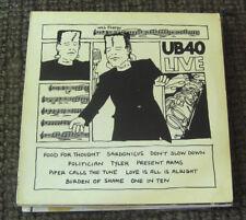FREE 2for1 OFFER-UB40 – Live Label: DEP International – LP DEP 4/LP