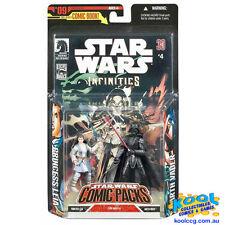 STAR WARS 30TH COMIC PACK 2007 #09 Leia Organa & Darth Vader *MOC*
