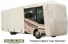 Goldline Class A RV Trailer Cover 22 to 24 foot Grey