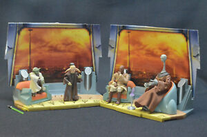 Star Wars SAGA AOTC Jedi Council Playset with figures