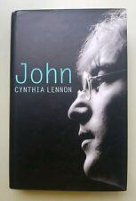 SIGNED Cynthia Lennon book John hardback HB 2005
