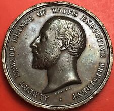1886 Great Britain Albert Edward Prince Of Wales - Colonial & Exhibition Medal