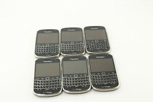 Lot of 6 BlackBerry Bold 9930 8GB Black Verizon Smartphone; NTS 678517