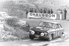 carte postale - PEUGEOT 204 COUPÉ Tour de France Auto 1971 - 10x15 cm