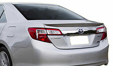 PAINTED TOYOTA CAMRY 4-DOOR FLUSH MOUNT FACTORY STYLE SPOILER 2012-2014
