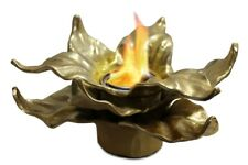 Anywhere Fireplace Botanical Heathcote Gold Gel Fuel Can Table Top Fireplace