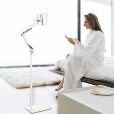 iPad Adjustable Floor Stand 360 Degree Rotatable Universal Metal Tablet Holder