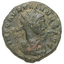 Roman Bronze Coin Antoninianus Aurelianus Iovi Conser Rome Mint Ae20 3,37g