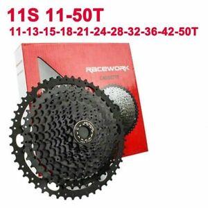 11Speed Cassette 11-50/52T Mountain Bike Wide Ratio Freewheel Black SHIMANO/SRAM