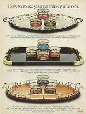 FANCY FEAST Cat Food Original 1985 Vintage Print Advertisement - Sweepstakes