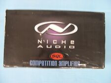 NICHE AUDIO SQL COMPETITION SERIES AMPLIFIER 1600 WATTS NA160.2C NEW