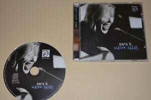 Sara K. - Water Falls / Stockfisch Records 2002/ Germany / Mit Widmung