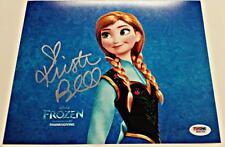 KRISTEN BELL signed Disney FROZEN Anna 8x10 Photograph w/ PSA/DNA + Proof