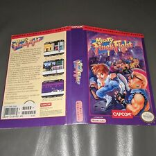 Mighty Final Fight Original Cut Box Only NES Nintendo No Game Ex Rental FREESHIP