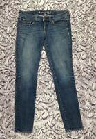 American Eagle Women's Medium Wash Stretch Super Skinny Jeans Size 6 Regular