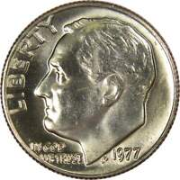 1977 10c Roosevelt Dime US Coin BU Uncirculated Mint State