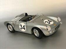 PORSCHE 550 Le Mans 1957 Ed Crawford Team Porsche KG UMBAU in 1:18