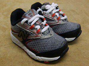 New Balance Childrens Shoes KJ 687 BRI Black Silver Athletic Shoe New in Box