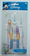 ~CASTLE~ DISNEY Dimensional Stickers JOLEE'S EK SUCCESS TinkerBell, Magic, Fairy