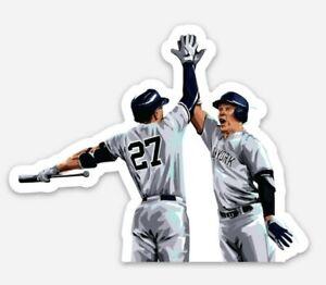 New York Yankees STICKER -Giancarlo Stanton Aaron Judge MLB Baseball Bronx Vinyl