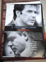THE INSIDER RUSSELL CROWE 1 SHEET MOVIE POSTER