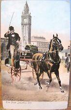 Art Postcard IRISH JAUNTING CAR BELFAST Northern Ireland John Carey AmericanNews