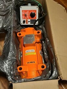 Vibco Scr-1000 Electric Vibrator, 6.50 A, 115Vac, 1 Phase new in open box