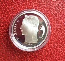 Belgique - Refrappe officielle de la Monnaie Royale - Rare 1 Franc 2001 VL