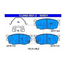 UAT 13.0460-5831.2 Bremsbelagsatz, Frein à disque à gauche pour MAZDA 626 V