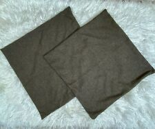 Thaliard Pack Of 2, Cotton Linen Blend Decorative Square Throw Pillow Cover
