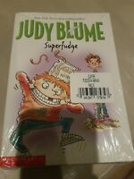 JUDY BLUME SUPERFUDGE AND FUDGE-A-MANIA BOOKS Scholastic 2 pack *Brand New