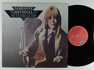 MARIANNE FAITHFULL As Tears Go By DECCA LP germany *