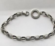 Thomas Sabo Sterling Silver Charm Club  Bracelet, 20cm , 14.31g