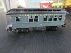 h o trains: Track ready COLORADO & SOUTHERN old timer passenger coach