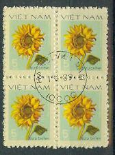 Vietnam Briefmarken 1978 Blumen Doppelpaar Mi.Nr.956