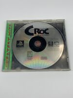 Croc: Legend of the Gobbos (1998) Ps1 In Original Case - Tested And Works!