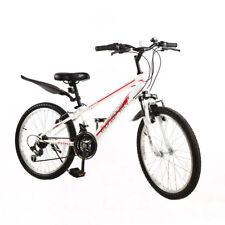 White Mountain Bike for Girls 22'' Kids Mountain Bikes 21 Speed Shimano Gears