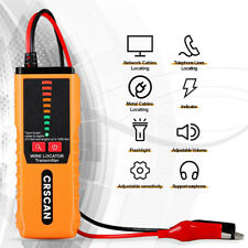 New Listingunderground Wire Tracker Lan With Earphone Wall Cable Non Destructive Locator