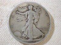 1918-D U.S Walking Liberty Half Dollar Very Good