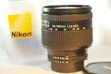 Nikon AF D Nikkor 24-120mm f/3.5-5.6 IF FX lens for F100 D610 D7500 DF D850 D500