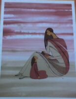 "IOYAN MANI MAXINE NOEL ""A MOTHER'S LOVE"" SIGNED AUTOGRAPH ART PRINT"