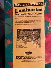 vintage*Lunimarias*Empire Candle*lot of 12