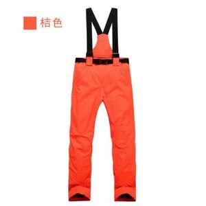 Mens/Womens Warm Ski Pants Snow Winter Waterproof Snowboarding Trousers Outdoor