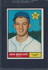 1961 Topps #466 Ron Moeller Angels EX 61T466-22716-2