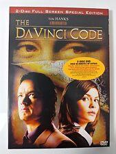 Video DVD - The Da Vinci Code - 2 Disc Special Edition NEW Open WORLDWIDE