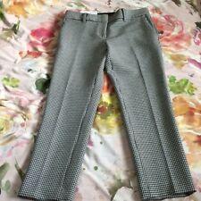 Ann Taylor Black & White Devin Pants Size 2P