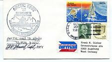 1981 USCGC Northwind WAGB-282 Summer Polar Arctic East Cover SIGNED