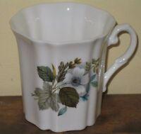 Royal Grafton Fine Bone China Mug Cup White Flowers Floral